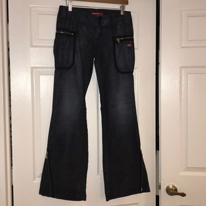 Miss sixty low rise jeans size 28